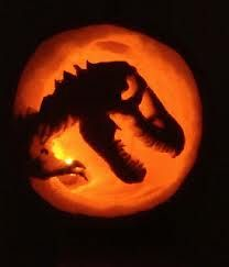 dinosaur pumpkin carving patterns - Google Search