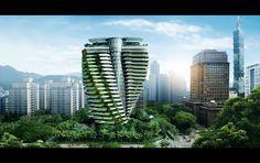 La visión del arquitecto Vincent Callebaut es crear una civilización que ahorre energ&...