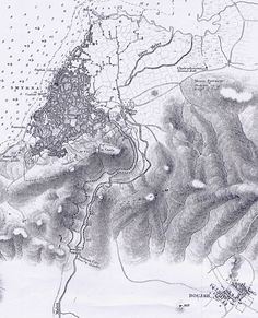 Old map of Izmir City Maps, History, Abstract, Artwork, Outdoor, Times, Summary, Outdoors, Historia