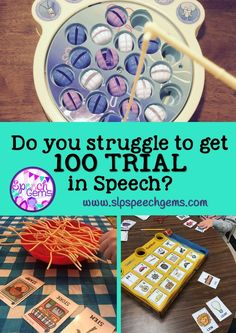 Do you struggle to get 100 trials in speech?  Try therapist directed drill play. Ideas for articulation!