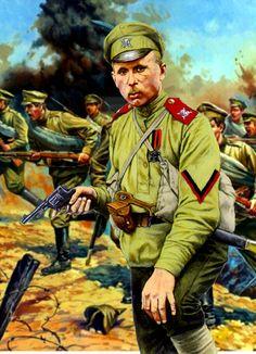 Revolutionary shock troops of the Russian Revolution