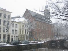 The main building of Leiden University