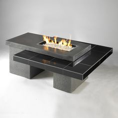 Uptown Gas Fire Pit Table | WoodlandDirect: Outdoor, Outdoor Fireplaces, Fire Pit Tables
