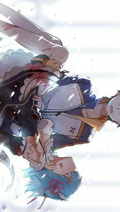Re zero-Natsuki Subaru and rem,so sad frame. 5 Anime, Otaku Anime, Anime Art, Re Zero Wallpaper, Cute Anime Wallpaper, Wallpaper Desktop, Pretty Anime Girl, Anime Love, Teen Titans