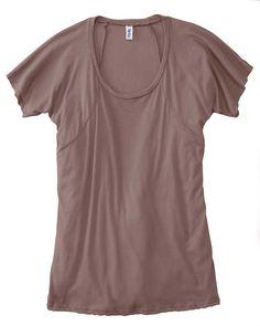 Womens Flowy Tee   Buy cheap Bella ladies melody flowy jersey t-shirt at Gotapparel.com.