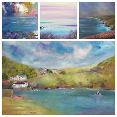 Oils inspired by Cornwall http://www.karinagoodmanstudio61.co.uk