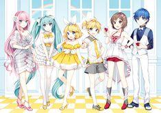 Vocaloid Kagamine Rin and Len Anniversary Celebrations Begin! Anime Chibi, Miku Chibi, Anime Art, Hatsune Miku, Len Y Rin, Kagamine Rin And Len, Vocaloid Cosplay, Otaku, Vocaloid Funny