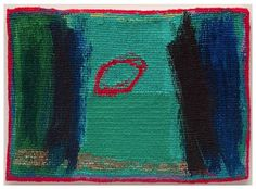 Jo Barker | 'Ellipse' (Date unknown). Woven tapestry.