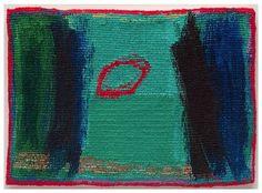 Jo Barker | 'Ellipse' (Date unknown). Woven tapestry.