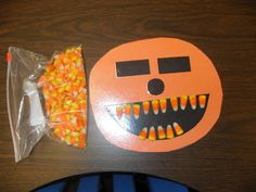 Candy Corn Teeth Math Facts: top teeth and bottom teeth represent the two numbers to add together, then fill in worksheet