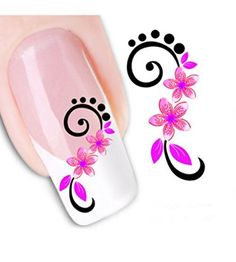 Ottery Tail flowers Nail Art Tips Stickers Water Transfer Decals Beauty Nail Salon For Girls * Review more details @ http://www.amazon.com/gp/product/B00UAHH8VW/?tag=christmasdecor1-20&pyx=170816220004