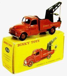 Dinky Toys ~ Camionette de dépannage Citroën