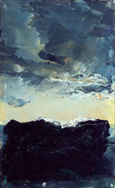 Våg IX - Wave IX by August Strindberg