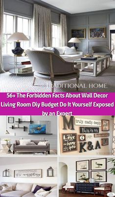 The Forbidden Facts About Wall Decor Living Room Diy Budget Do It Yourself Exposed by an Expert Decor, Room Diy, Large Furniture, Trendy Wall Decor, Wall Decor, Living Room Diy, Living Decor, Room, Diy On A Budget