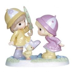 Together Through All Sorts Of Weather - Friendship - Figurines - Precious Moments