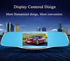 5 inch car rearview mirror DVR camera recorder camcorder video digital dash cam black box high quality