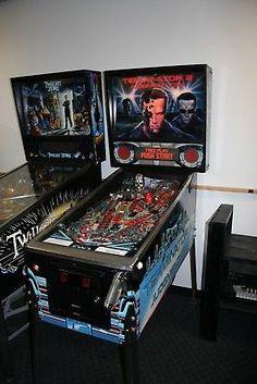 1991 Williams Terminator 2 Pinball Arcade Vintage Machine WORKING-CONDITION  (eBay Link)