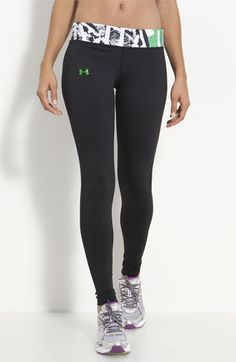 under armour tights for gym!