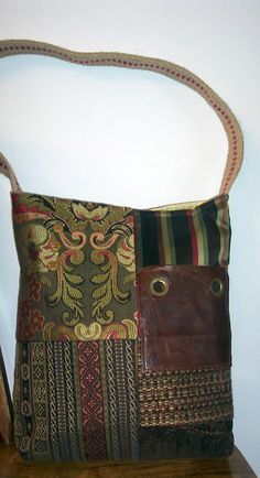 Really into the Upcycled bags