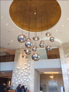 Maxi uitvoering eve bulbs. Marriott Hotel, Rotterdam