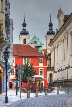 The church of St.Salvator in Old Town, Prague, Czechia Sacred Architecture, Historical Architecture, Prague Christmas Market, Prague Old Town, Prague Czech Republic, Famous Places, Most Beautiful Cities, Kirchen, Eastern Europe