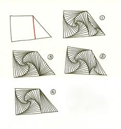 Here are Zentangle's instructions for the tangle Paradox, from the February 2008 newsletter .     Paradox is one of my favorite tangles and ...
