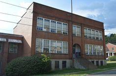 Jefferson School in Alleghany County, Virginia.