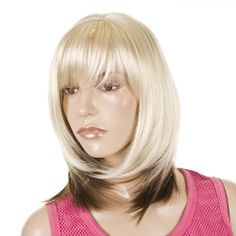 Hair By MissTresses -  Mid Length  2 Tone Fashion Wig | 3 Colour Ways | Dual Shade wigs, �12.00 (http://www.celebwigs.com/mid-length-2-tone-fashion-wig-3-shades)