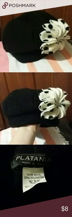 Very cute Platania hat made in Italy! Very cute hat made in Italy by Platania. This hat is absolutely adorable! Platania Accessories Hats