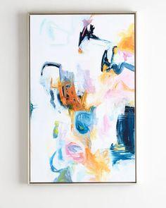 "Giclee reproduction of an original painting by Kelly O'Neal. Leftbank Art ""Le Grande Jete"" #artlovers #artistic #art #arte #painting #artwork #homedecor #decor"