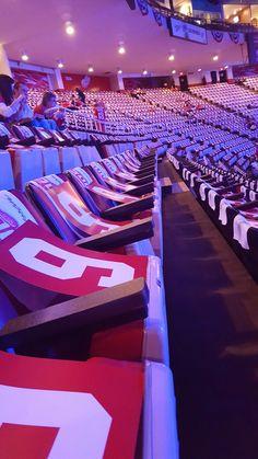Red Wings Home Opener 2016. Honoring Mr. Hockey.
