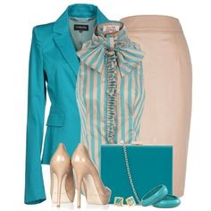80 Elegant Work Outfit Ideas in 2017  - Are you looking for catchy and elegant work outfits? We all know that there are several factors which control us when we decide to choose something to... -  work-outfit-ideas-2017-63 .