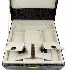 Šperkovnice čtverec střední hnědá 5778-2 | Bižuterie Kozák Jewellery Box, Jewelry, Jewelry Box Store, Jewellery Making, Jewelery, Jewel Box, Jewlery, Jewels, Jewerly