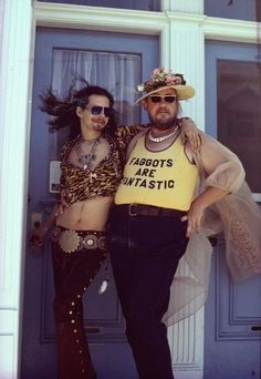 """""""Faggots are fantastic"""" This is such an awesome picture. Love it.  #gsm #lgbtq #feminism"""