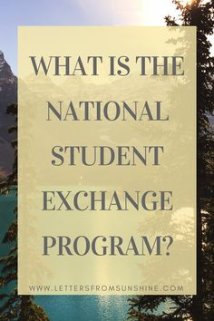 What is the National Student Exchange Program? Learn how to study at an out-of-state school for a cheaper price with this amazing opportunity available to select college students. Read more at Letters From Sunshine (www.lettersfromsunshine.com).