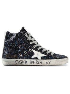 """Golden Goose Deluxe Brand 'francy Space Glitter"""" Sneakers - Pozzilei - Farfetch.com"""