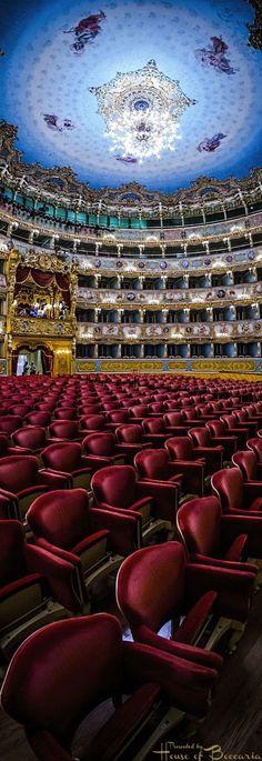 ~La Fenice Theatre, San Marco, Venice, Italy | House of Beccaria#.  Via @houseofbeccaria. #Italy #Venice