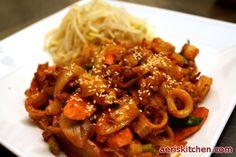 Spicy Squid BokkEum | Aeri's Kitchen | Cooking Korean Recipes & Food