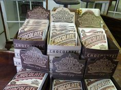 Olive and Sinclair: The Art of Chocolate