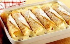 Κρέπες με κρέμα βανίλιας -θα τις λατρέψετε, τέλεια συνταγή