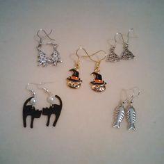 Earrings I made.