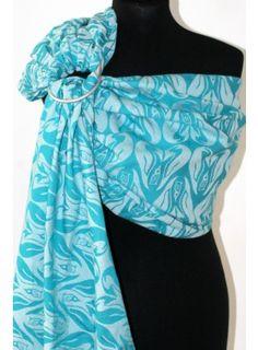 Ringsling Penguin Tierra del Fuego Wrap, One Shoulder, Blouse, Tops, Women, Fashion, Fire, Earth, Moda