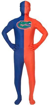 University of Florida Skin Suit Adult Costume,#Florida#University#Skin