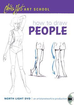 Video Download: Chris Hart Art School: How to Draw People | NorthLightShop.com