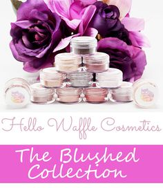 Phyrra brings you Hello Waffle's Blushed Collection, which is an eyeshadow collection of rose golds, pinks and purples. So pretty! You need to see it!