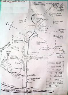 Map of Parvati Valley