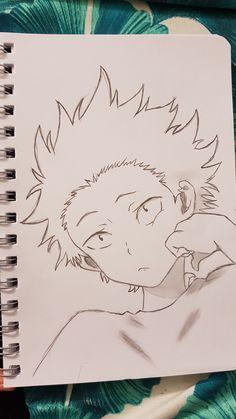 A silent voice Anime Boy Sketch, Anime Drawings Sketches, Anime Art Girl, Cute Drawings, Drawing Base, Manga Drawing, Manga Art, Cute Cartoon Wallpapers, Animes Wallpapers