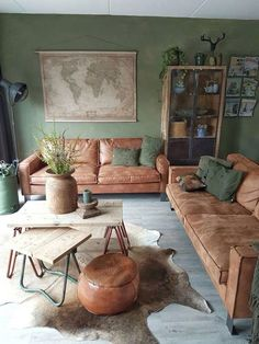Bohemian Living Rooms, Cozy Living Rooms, My Living Room, Living Room Decor, Bedroom Decor, Living Spaces, Small Living Room Design, Living Room Designs, Western Style