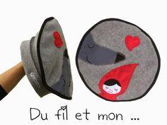 Du fil et mon...: Beret Chaperon Rouge et plus si affinités ...