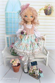 Текстильные куклы Елены Негороженко